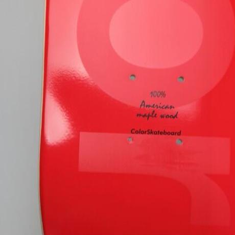 COLOR SKATEBOARD Phantom Red