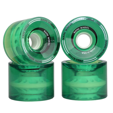 NAMI WHEEL FreeStyle 66mm Clear Green