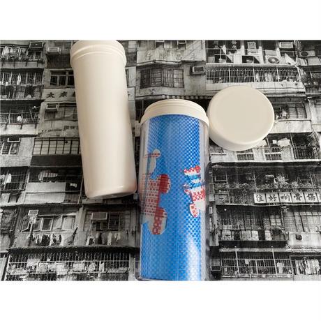 【香港☆紅白藍330】「藍白熊」環保杯   /  タンブラー♡300ml