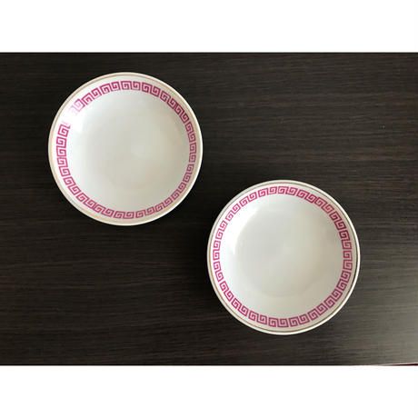 【香港☆中国制造】キッチュな模様の小皿   /  取り皿にしても可能です!