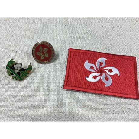 <4周年感謝商品>【香港☆Star Arts】 ピンバッジ・ワッペン / ¥500 3種類