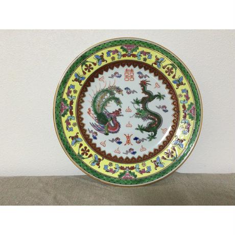 【香港☆中国景徳鎮】お勧め☆龍柄の大皿 / 飾っても素敵です