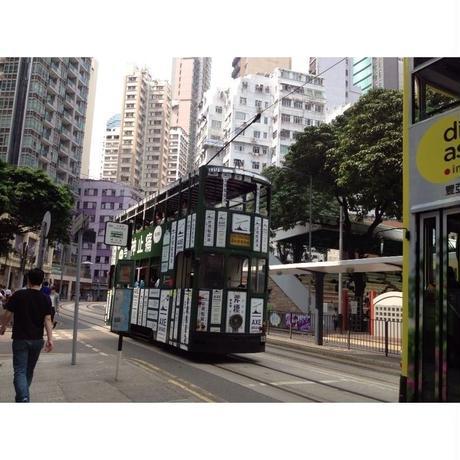 【香港☆80M 巴士店】斧標電車 /   痛い方どうぞ!!ミニチュアトラム 1:150 SCALE