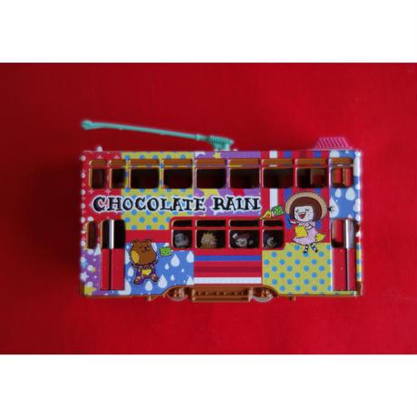 【香港☆TINY】<限定>  香港電車「Chocolate Rain」 / 「チョコレートレイン」Hong Kong Tram・城市合金車仔