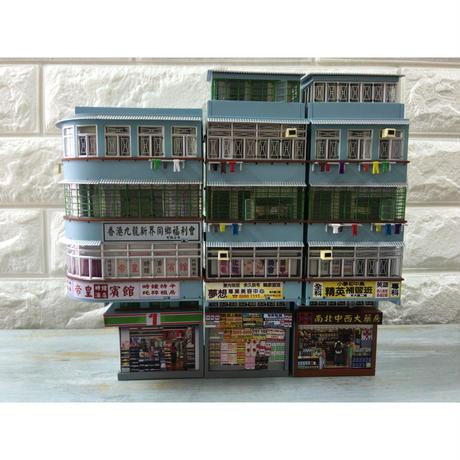 【香港☆組合香港屋】Miniature 1:76 SCALE /  1號便利店  HONG KONG COMBINATION BUILDING