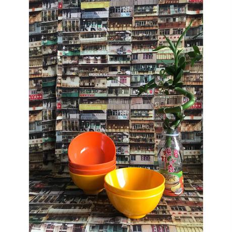 【香港☆メラミンボウル】元気がでるビタミンカラー / (2色)家居用品