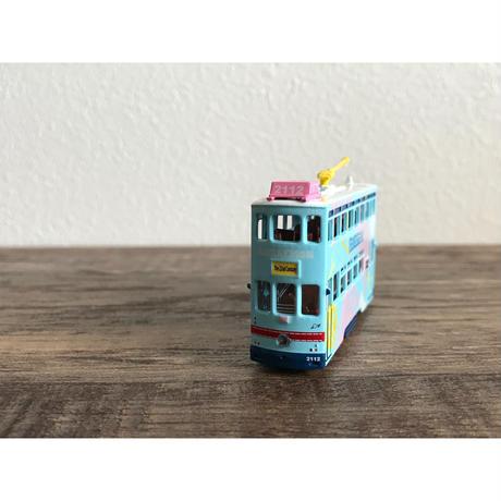 【香港☆TINY】城市  合金車仔  香港電車と雪糕車「多A啦夢」 / 「Doraemon」Hong Kong Tram・Ice Cream Car
