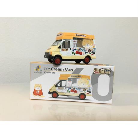【香港☆ICE Cream Van】忌廉哥ミニチュアカー / クリームあにき
