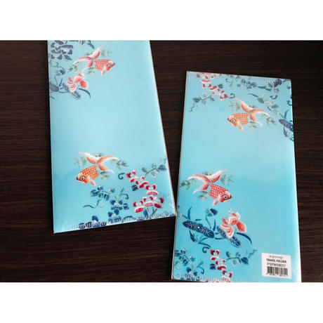 【香港☆Passage】☆New☆TRAVEL FOLDER / 金魚