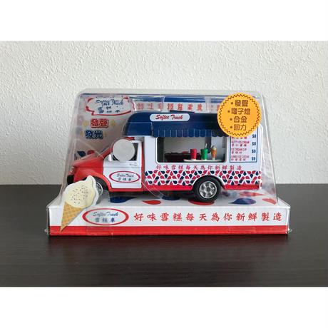 【香港Ice Cream Van】發聲☆電子燈☆合金☆回力 / 存在感◎アイスクリームヴァン