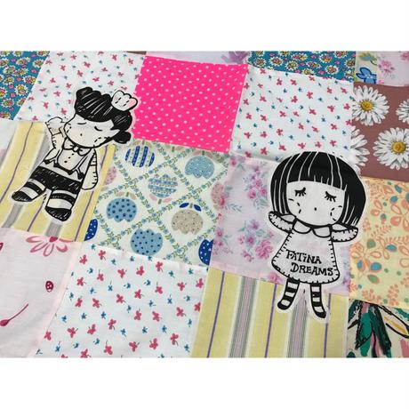 【香港☆Chocolate Rain】<デザイナーHandmade> ピローカバー