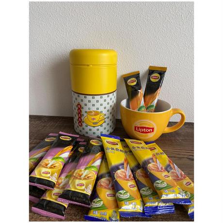 【香港☆Lipton】可愛い缶入り♡港式茶餐廳<再再再再再入荷> / ギフトにもおススメです!