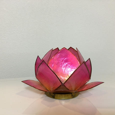 【香港☆THE CANDLE COMPANY】 キャンドルホルダー / 蓮・Lotus