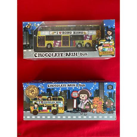 【香港☆TINY】<限定>  香港巴士「Chocolate Rain」 / 「チョコレートレイン」Hong Kong Bus・城市合金車仔