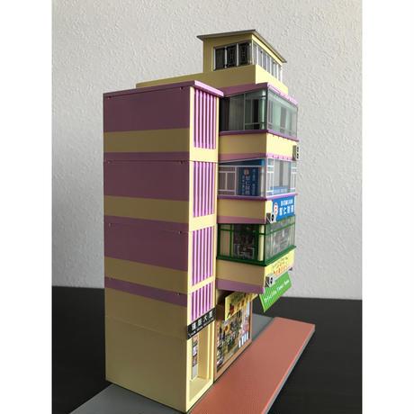 【香港☆組合香港屋】<No.BC-97610>Miniature 1:76 SCALE /   HONG KONG COMBINATION BUILDING