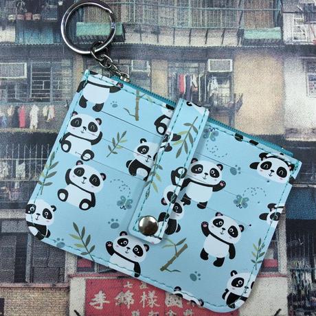 【香港☆Panda】かわいいパンダのカード&コインケース /  パンダポーズ