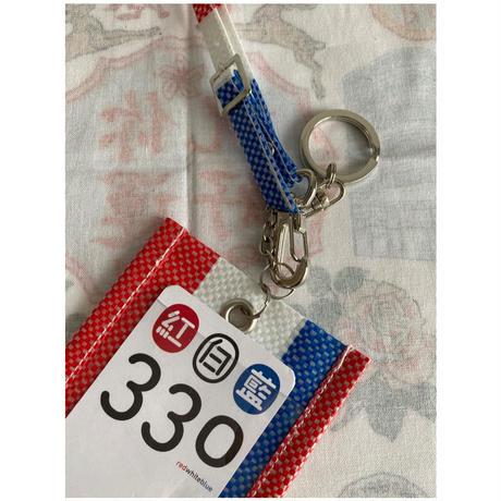 【香港☆紅白藍330】八達通行李牌   / カードホルダー・ ラゲッジタグ