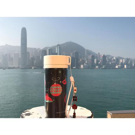 【香港☆PACIFIC COFFEE】Insert Mug・タンブラー /  MERRY IN HONG KONG