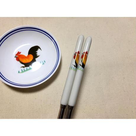 【香港☆ 雞 食器】 お箸・取り箸 /   かわいいお箸