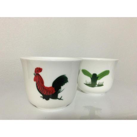 【香港☆ 雞 食器】 (お揃い)ティーカップ・湯飲み