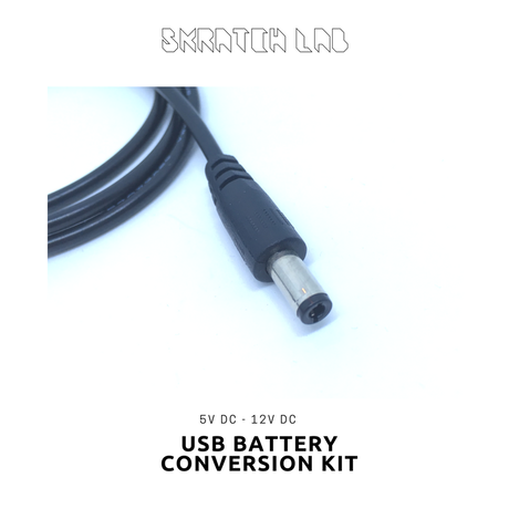 USB BATTERY CONVERSION KIT