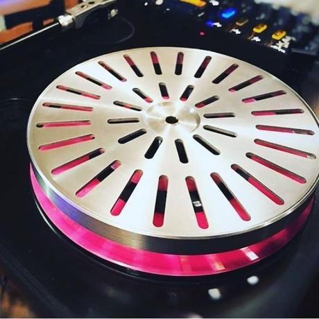 PT Rev 01 - Premium 7″ Aluminium platter Numark PT01