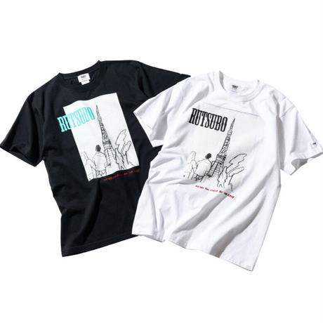 【RUTSUBO】TOWER S/S T-SHIRTS(RUTSUBO×SUGI)