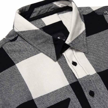 【HUF】HEIGHTS L/S FLANNEL