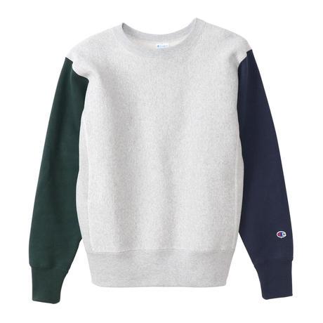 【CHAMPION】リバースウィーブクルーネックスウェットシャツ
