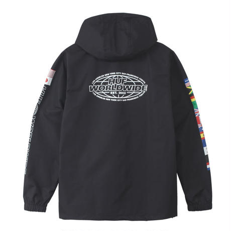 【HUF】WORLD TOUR ANORAK