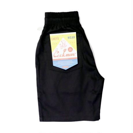 【COOKMAN】シェフパンツ Chef Pants Short Black