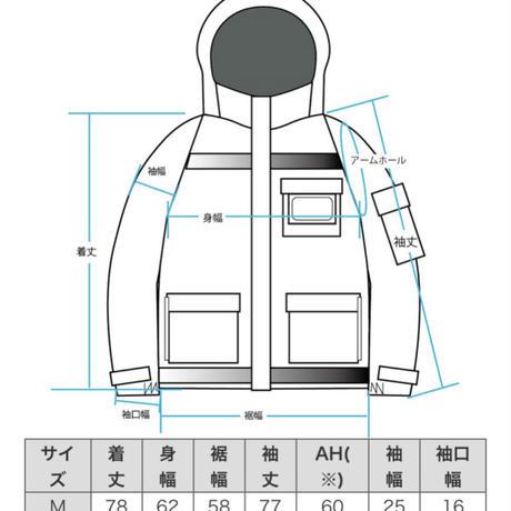 【COOKMAN】フリーザージャケット Freezer Jacket Red