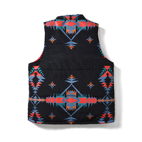 【LAFAYETTE】NATIVE PATTERN REVERSIBLE VEST