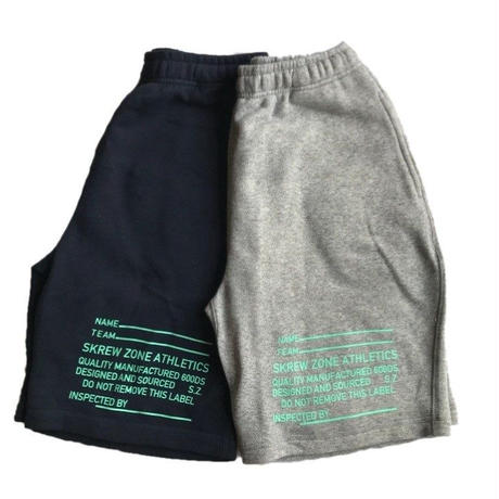 【SKREWZONE】SPEC SWEAT SHORTS