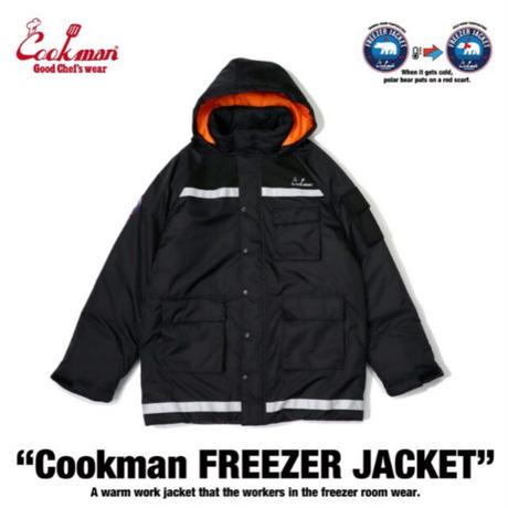 【COOKMAN】フリーザージャケット Freezer Jacket Black