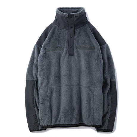 【UNCROWD】MILITARY FLEECE PULLOVER