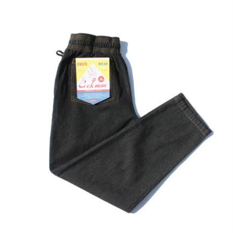 【COOKMAN】Chef Pants DENIM Black