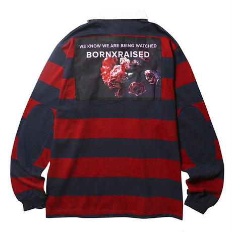【BORN × RAISED】RUGBY SHIRT
