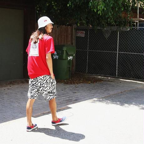 【COOKMAN】シェフパンツ Chef Pants Short Zebra