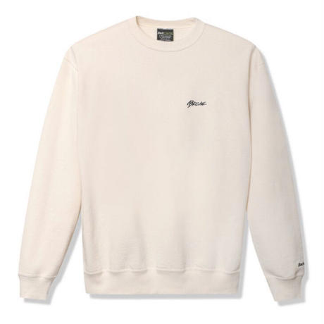 【Back Channel】ONE POINT CREW SWEAT