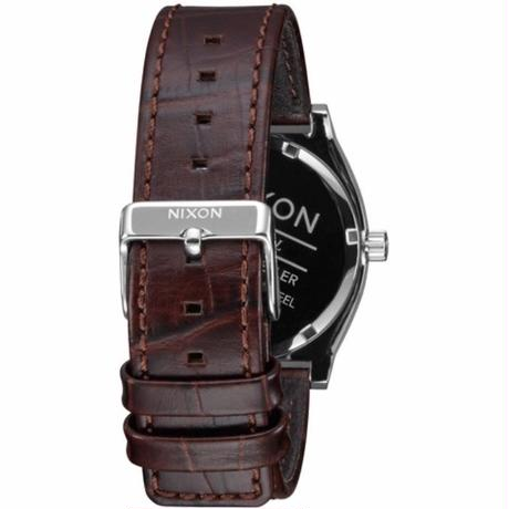 【NIXON】THE TIME TELLER/BROWN GATOR