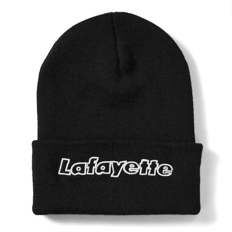 【LAFAYETTE】OUTLINE HUGE LOGO KNIT CAP