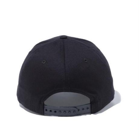 【NEWERA】9FIFTY ストレッチスナップ シカゴ・ブルズ ブラック × チームカラー