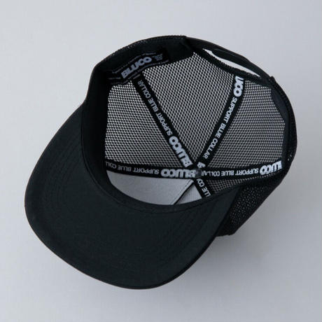 【BLUCO】MESH CAP -circle patch-