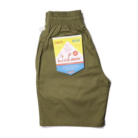 【COOKMAN】シェフパンツ Chef Pants Short Khaki