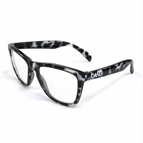 【DANG SHADES】ORIGINAL Black Clear Tortoise x Clear