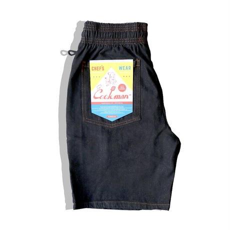 【COOKMAN】Chef Pants Short Denim