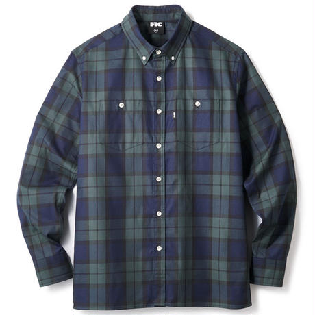 【FTC】PLAID TWILL B.D SHIRT