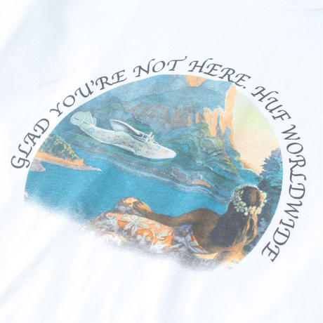 【HUF】GLAD YOURE NOT HERE S/S TEE