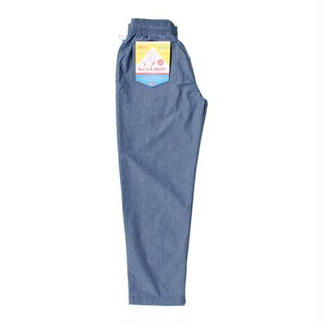 【COOKMAN】Chef Pants Chambray Light Blue
